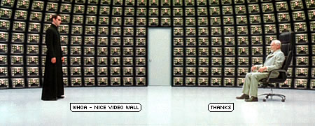 Matrix video wall